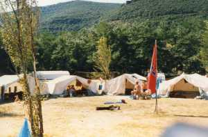 Falkencamp in Saint Jean du Gard